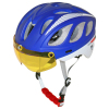 Deluxe Hot UV Proof Cross Cycling Helmet With PC Visor