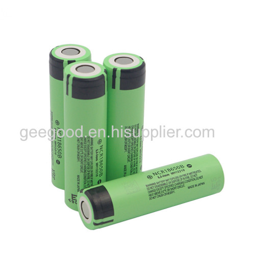 Panasonic 18650 B 3400mAh 3.7V li ion rechargeable battery high capacity battery best tesla battery