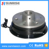 Electromagnetic clutch with bearing pedestal