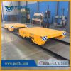 metal handing battery steerable transfer bogie on rail