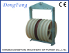 Six bundled Conductor Stringing Pulleys With Seven wheels central steel sheave