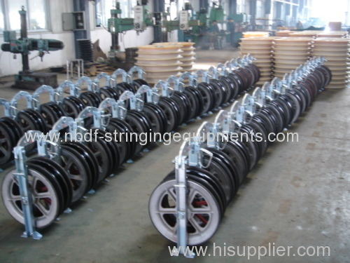 Three Bundled Conductors Pulley Blocks with good quality wheels