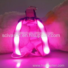 LED Dog Harness led