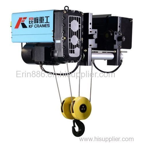 1T Electric chain hoist with manual trolley manufacturer