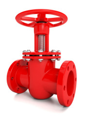 4/6 Inch Electric Actuated Resilient Seated Cast Ductile Iron Rising Steam Type Industrial Water Gate Valve