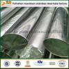 SUS304 Grade Oval Stainless Steel Slotted Tube