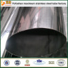 JIS Standard Flat Stainless Steel Oval Tube Stainless Steel Section Tube