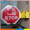 Middle East School Bus Stop Arm Electric Manual Sign