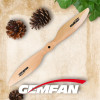 2 Blade Multi-axis Electric Wooden Slow Flyer Propellers 1545 For Rc Airplane
