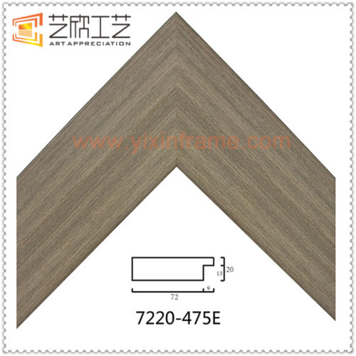 Wood Color China PS Frame Moulding For Pictures