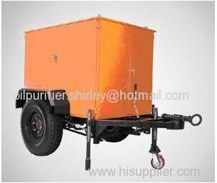 Mobile Type Vacuum Transformer Oil Treatment Equipment (ZYD-M)