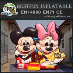 Mickey minnie mouse inflatable bouncer for kids