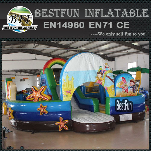 Beach style amusement parks inflatable