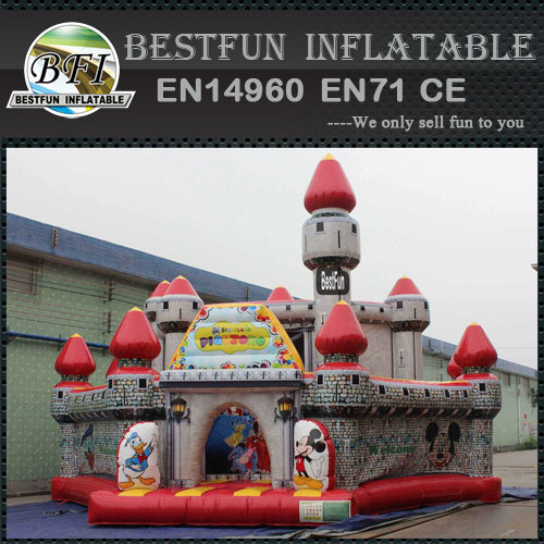 Certificate disney land inflatable bounce castle