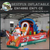 Inflatable airplane amusement park trampoline