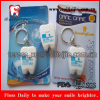 FDA approved dental floss tooth shape keychain dental flosser box 20meters waxed mint flavor