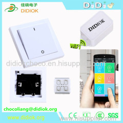 phone wifi controlled light switch 220v