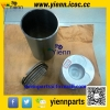 HINO EH700 EH700T Piston Piston ring Cylinder liner Gasket set For HINO BUS BX341 And FF177K GD176 Turcks EH700 Engine