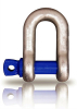 Screw pin chain shackle with CE approved