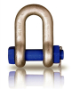 Galvanized bolt type chain shackle with high quality