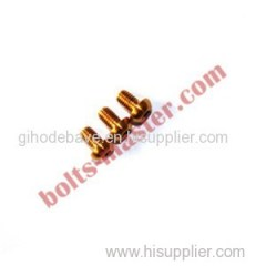 Titanium Button Head Cap Screws
