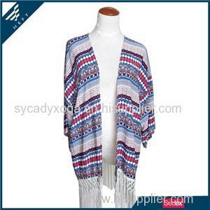 Scarf Shawl With Tassel For Women