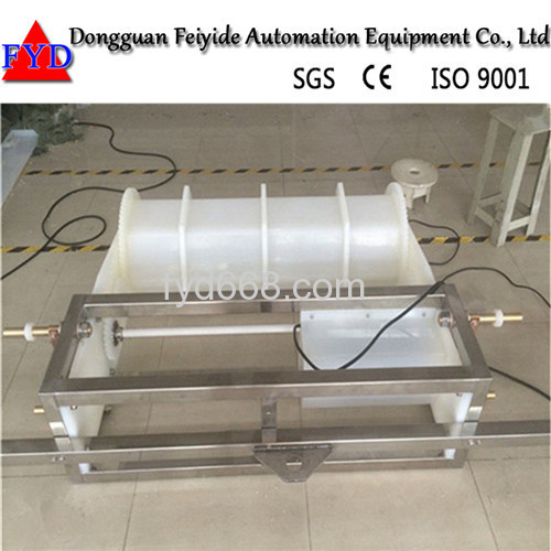Feiyide automatic galvanizing machine with plating barrel for hardware parts