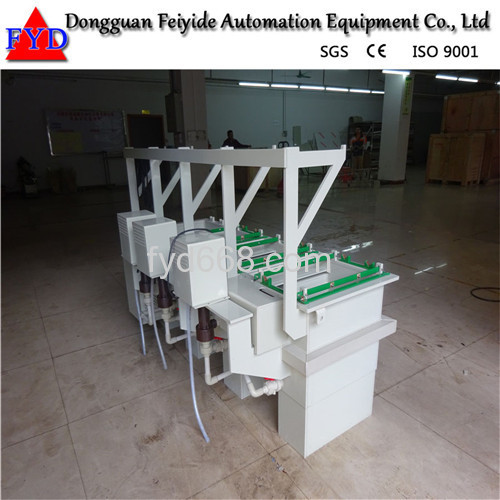Feiyide Manual Copper Barrel Electroplating / Plating Machine for Screw / Nuts / bolts