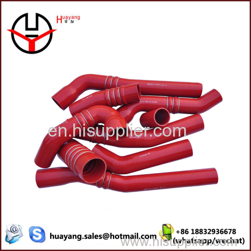 High temperature bearing silicone rubber hose
