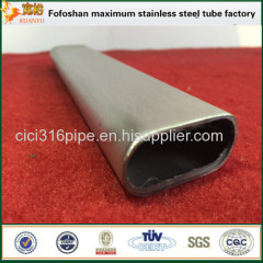 316 Cheap Price High Quality Mild Steel Oval Tube Special Shaped Tubing