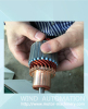 Starter armature commutator spot welding hot staking