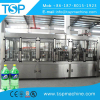 Automatic bottled carbonated drink beverage filler/filling capping machinery