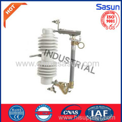 Porcelain Type Drop out fuse cutout grey color 24-27kv