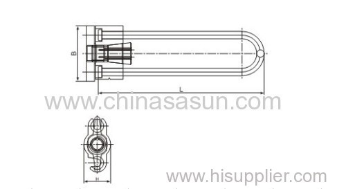 CSJ Strain Clamp for power cable