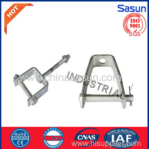 D-Iron For electric power fittings porcelain insulator