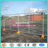 AS 4687 standard 2.4x2.1m temporary fence with concrete base and clamps for Australia