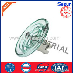 Glass suspension insulator U120BL