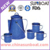 European Style Enamel Coffe Set/Enamel Percolator Pot