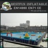 Big Metal Frame Outdoor Swimming Pool For Amusement
