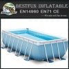 Stainless Steel Metal Frame Swimming Water Pool