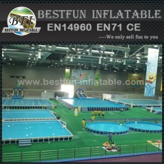 Water Park Metal Frame Swimming Pool