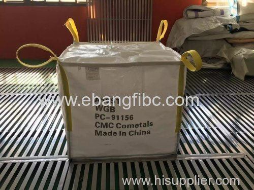 clean big bag with antistatic fabric