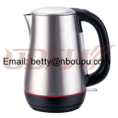 1.7L Cordless Plastic Concealed Electric Kettle