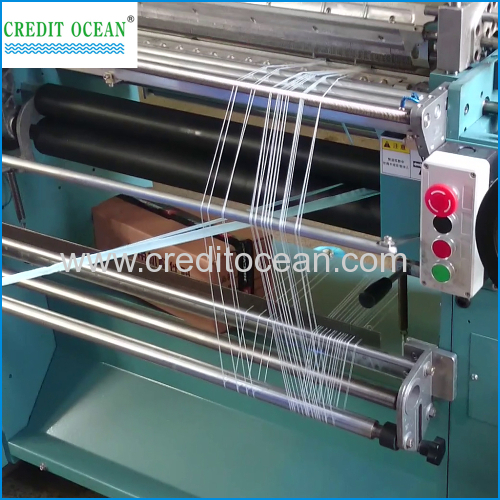 High speed elastic crochet machine