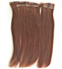 China Double Drawn Seamless Clip in Remy hair extensions Supplier