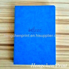 Notebook with PU cover