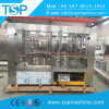 Automatic glass bottle sparkling carbonted water washing filling capping machine with aluminum crown cap