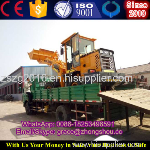 2T diesel front wheel loader price small wheel loader
