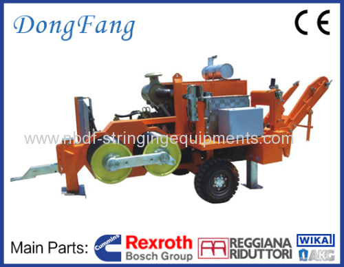 16 Ton Tension Stringing Equipment for 4 conductors