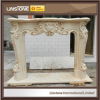 Natural Stone Fine Sculpture Fireplace